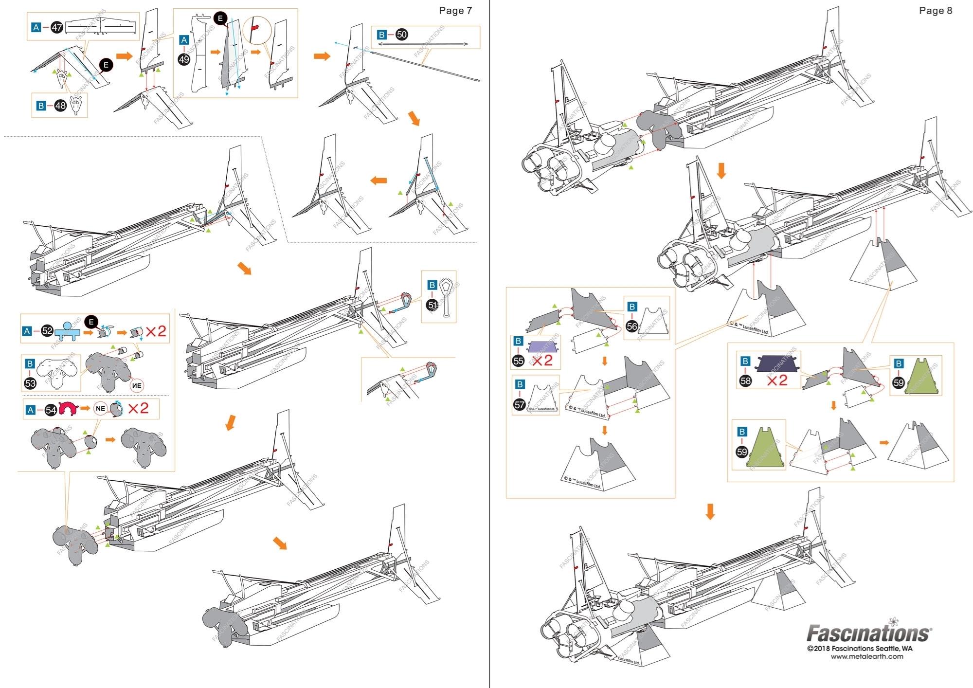 Fascinations Metal Earth Solo Star Wars Enfys Nest/'s Swoop Bike 3D Model Kit